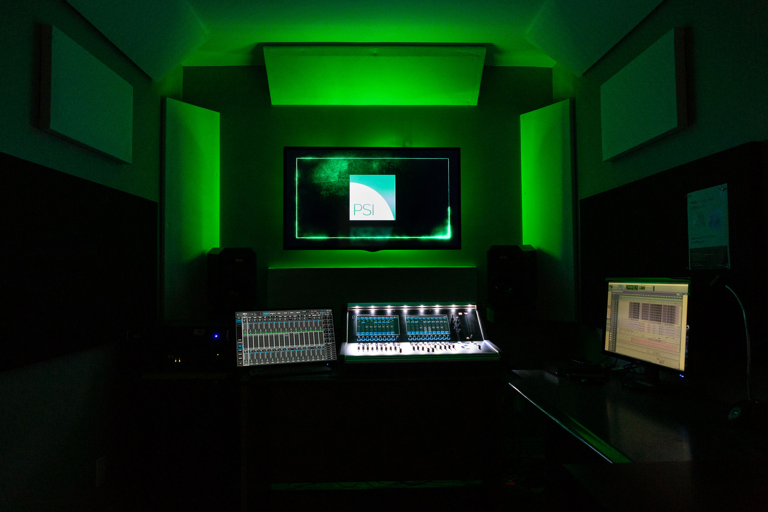 PSI Broadcast & Editing Suite_